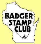 LOGO-BADGER STAMP CLUB